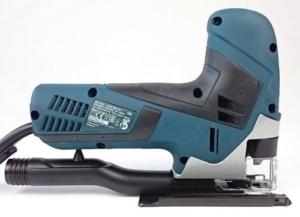Foto von der rechten Seite der Bosch GST 90 E Professional Pendelhub-Stichsäge