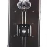 Foto von der Fußplatte der Bosch GST 90 E Professional Stichsäge von unten gesehen