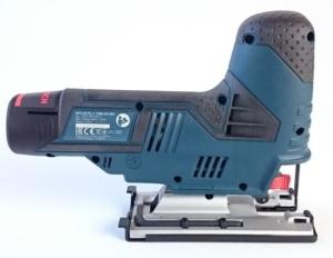 Foto von der rechten Seite der Akku Stichsäge Bosch GST 12V-70 Professional