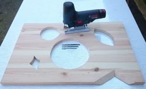 Foto von speziellen Sägearbeiten mit der Akku Stichsäge Bosch GST 12V-70 Professional
