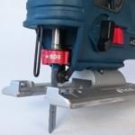 Foto vom SDS Schnellwechselhebel der Bosch GST 12V-70 Professional Akku Stichsäge