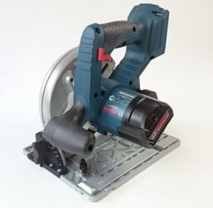 Foto von der Bosch GKS 18V-57 G Professional Akku Handkreissäge